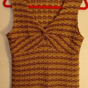 Christopher and Banks Sweater Tank Top